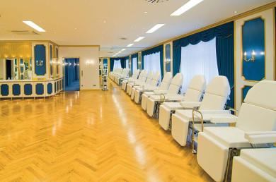 INKOFA Hamburg, Fußpflegeausbildung Leibbrand, Praktikum Kosmetikraum